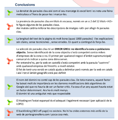 Pros i Contres del SEO actual