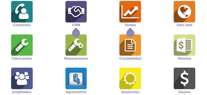 odoo ERP gestió online